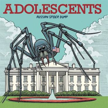 ADOLESCENTS <br/> <small>RUSSIAN SPIDER DUMP (COLORED VINYL)</small>