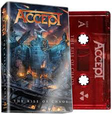 ACCEPT <br/> <small>THE RISE OF CHAOS (RED) (LTD)</small>
