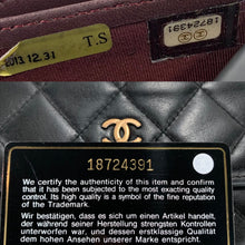 Load image into Gallery viewer, Timeless CHANEL Matelasse Wallet on Double Gold Micro Chain