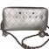 CHANEL Charmed Wild Stitch Zip Wallet with Chain