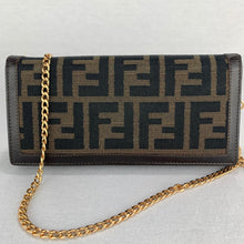 Load image into Gallery viewer, FENDI Zucca Wallet on Chain