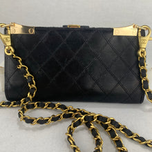 Load image into Gallery viewer, CHANEL Wild Stitch Lambskin Wallet on Chain