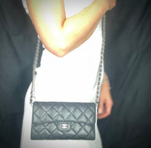 Load image into Gallery viewer, CHANEL Matelasse Lambskin Flap Wallet on Chain