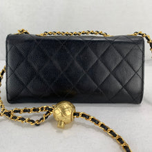 Load image into Gallery viewer, Timeless CHANEL Caviar Matelasse Wallet on Adjustable Gold Chain