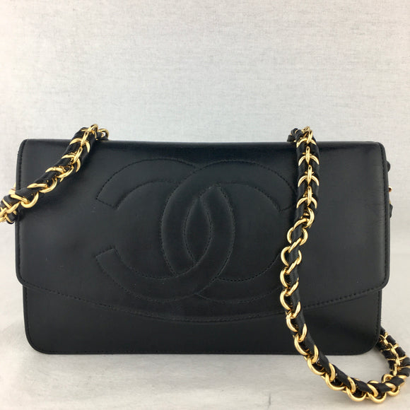 Vintage CHANEL Clutch on Braided Chain