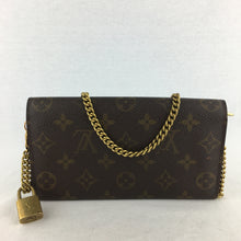 Load image into Gallery viewer, LOUIS VUITTON Sarah Wallet on Chain with LV Lock