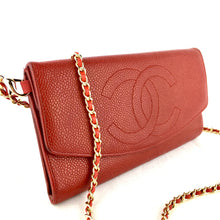 Load image into Gallery viewer, Vintage CHANEL Clutch on Micro Chain