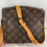 LOUIS VUITTON Vintage Cartouchiere MM Crossbody