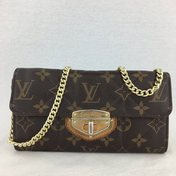 LOUIS VUITTON Monogram Etoile Wallet on Chain