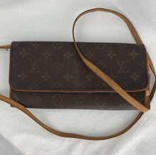 Load image into Gallery viewer, LOUIS VUITTON Monogram Pochette Twin GM