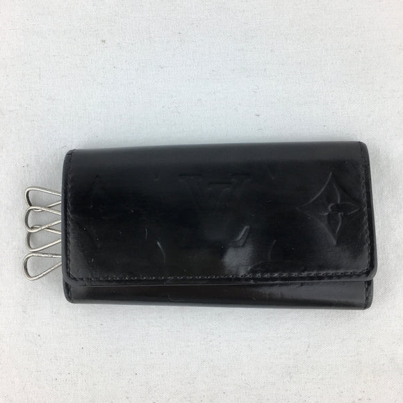 LOUIS VUITTON Leather Key Case/Card Holder