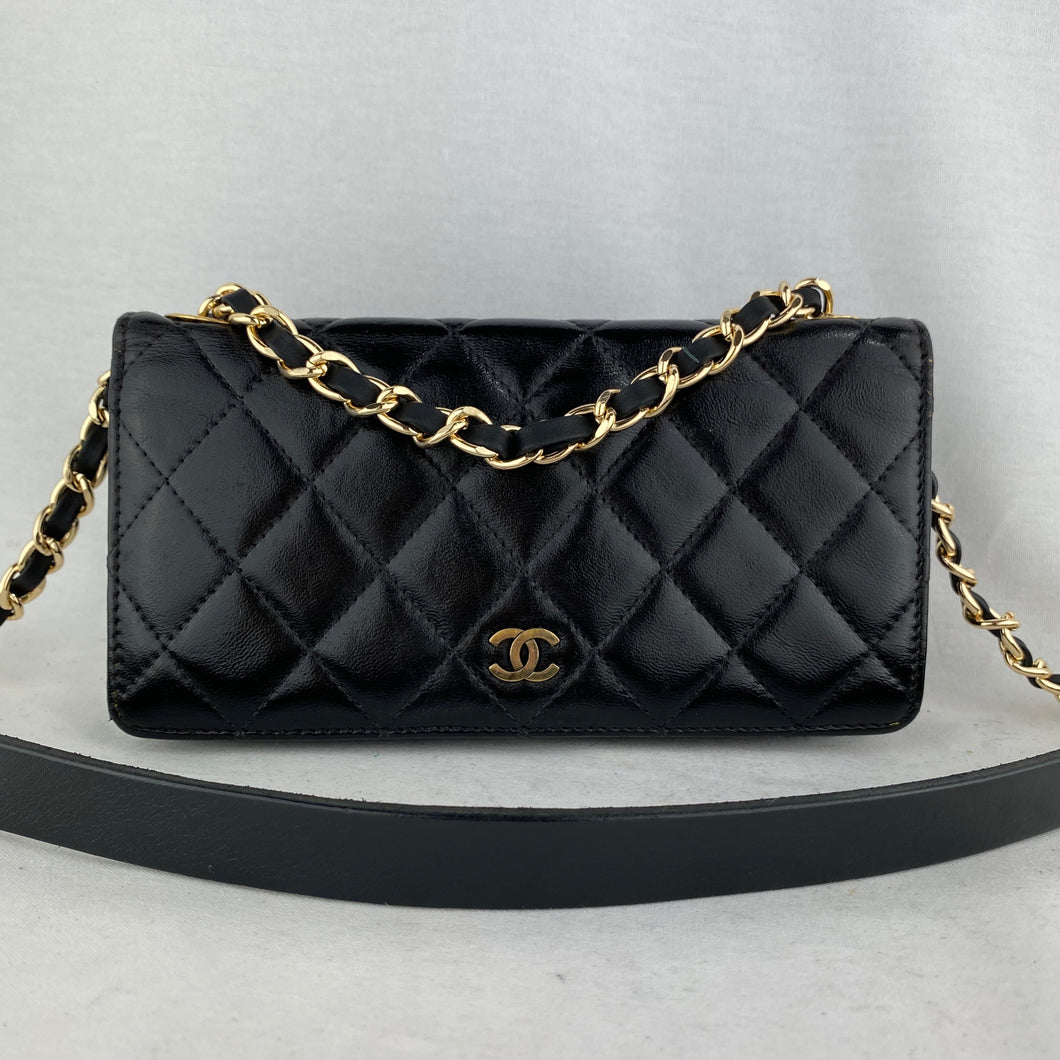 CHANEL MATRASSE WALLET ON CHAIN