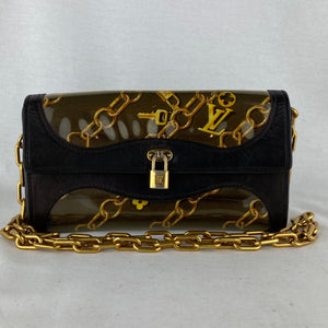 LOUIS VUITTON Charm Pochette on Chain