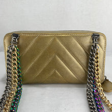 Load image into Gallery viewer, CHANEL Chevron Zip Wallet with Optional Chains