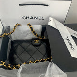 Vintage CHANEL Stitch Wallet on Chain