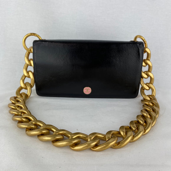 CHANEL CC Button Wallet on Chain