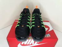 Nike Air Vapormax Plus Black Lime Green Ember Glow Mens CU4884 001
