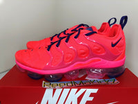 Nike Air Vapormax Plus Bright Cimson Pink Blast Womens sizes CU4907 600