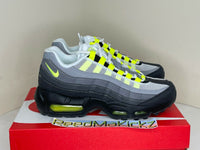 Nike Air Max 95 Neon GS Black Yellow Grade School Youth Sizes CZ0910 001