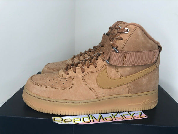 Nike Air Force 1 High '07 WB Flax Wheat 2019 Mens CJ9178 200