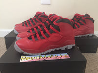 Nike Air Jordan X 10 Retro 2015 Bulls Over Broadway Grade school size