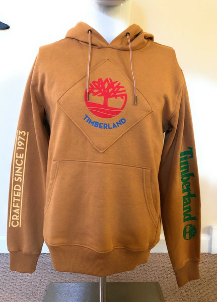 Timberland Pullover Hoodie Wheat Patch Logo Mens TB0A29FD P47