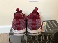 Nike Lebron 15 XV Low Team Red Taupe Grey Mens sizes AO1755 200