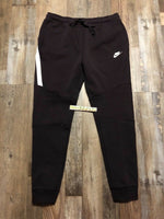 Nike Tech Fleece Pants Joggers Slim Fit Burgundy Mens 805162 659