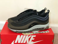 Nike Air Max 97 Ultra 17 HAL Patch Hot Air Black Olive mens sizes AH9945 001
