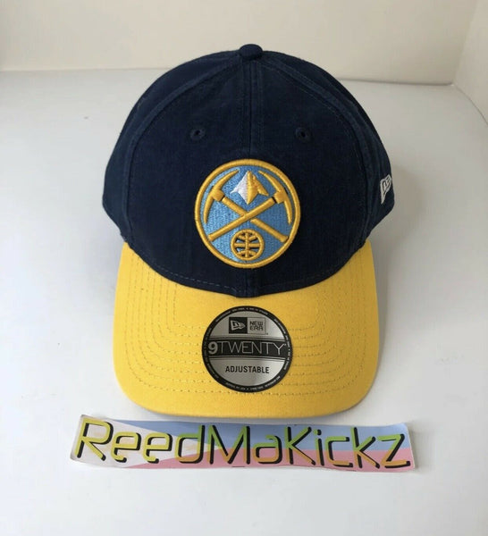 NEW ERA DENVER NUGGETS CORE CLASSIC 9TWENTY ADJUSTABLE HAT