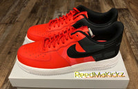 Nike Air Force 1 '07 LV8 Low Habanero Red Mens sizes AV8363 600