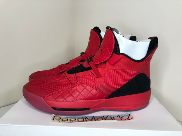 Nike Air Jordan XXXIII 33 University Red Mens AQ8830 600