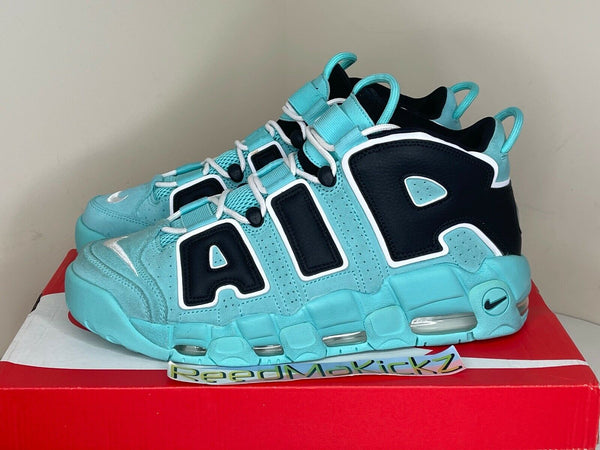 Nike Air More Uptempo 96 QS Light Aqua DISPLAY ITEM Mens CN8118 400