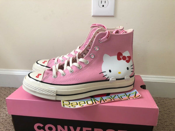 Converse Chuck Taylor All Star High Hello Kitty Pink 2018 Womens sizes 162936C