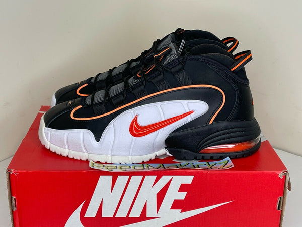 Nike Air Max Penny 1 Black Total Orange Mens 685153 002