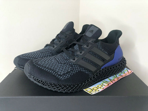 Adidas Ultra4D Black Purple OG Mens FW7089