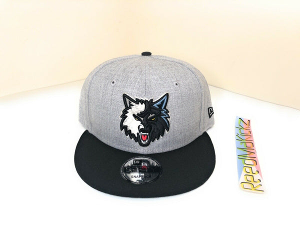 New Era Minnesota Timberwolves 2tone 9Fifty Adjustable Snapback Hat Mens