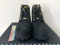 Timberland 6 inch Premium Boots Shearling Black Kids Youth Junior TB0A294V 001