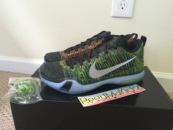 Nike Kobe X Elite low PRM HTM Multi color Race car Mens size 11us