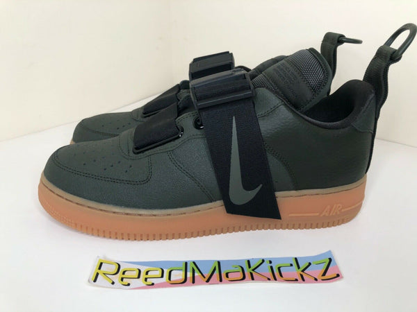Nike Air Force 1 Utility Sequoia Black Gum Mens sizes AO1531 300