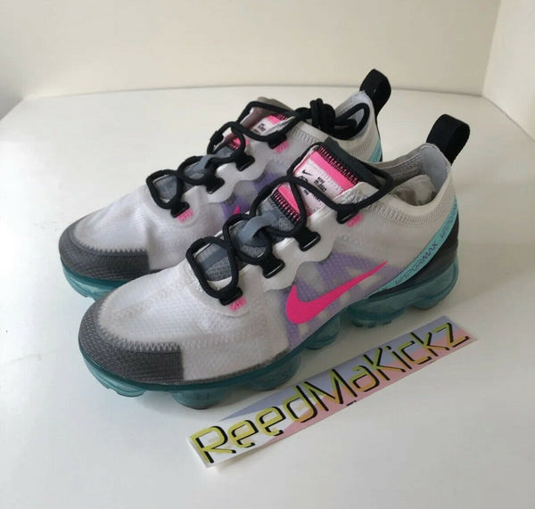 Nike Air Vapormax 2019 Southbeach Pink Blast PRE OWNED NO BOX Womens AR6632 005