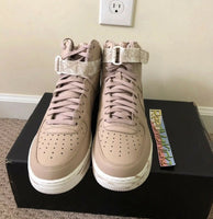 Nike Air Force 1 High '07 LV8 LTHR Dip Dye Sand Mens sizes AT3293 200