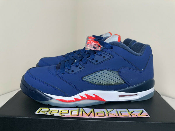 Nike Air Jordan 5 V Retro Low 2016 Deep Boyal Blue New York Knicks GS 314338 417