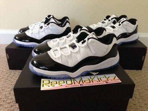 Nike Air Jordan XI Retro Low 2014 Concord Pre school sizes