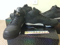 Nike Air Jordan Retro 3LAB5 Black Metallic Silver Mens sizes 599581 003