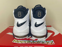 Nike Air More Uptempo Olympic 2020 White Navy Scottie Pippen Mens 414962 104