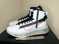 Nike Air Max 720 Saturn White Black University Red Mens AO2110 100