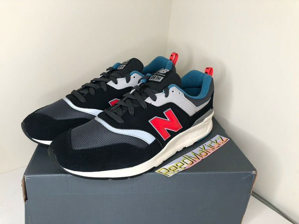 New Balance 997 Magnet Black Red Medium D Mens CM997HAI