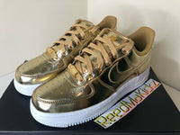 Nike Air Force 1 Low SP Metallic Gold Womens CQ6566 700