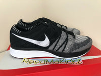 Nike Flyknit Trainer 2018 Oreo Black White Mens AH8396 005